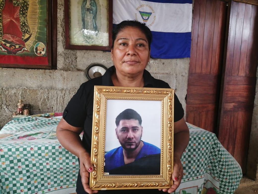 María Elena Hernández, madre del preso político. Foto: Noel Miranda / Artículo 66
