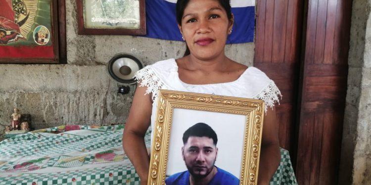 Niegan atención médica al preso político de Masaya Denis Javier Palacio Hernández