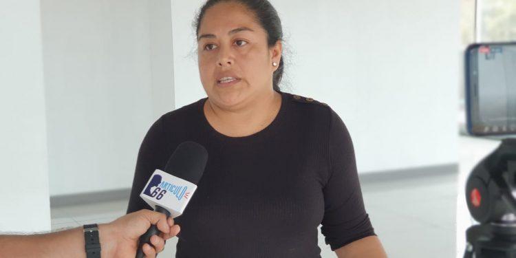 Ivania Álvarez miembro de la Unidad Nacional y Coalición Nacional. Foto: Artículo 66