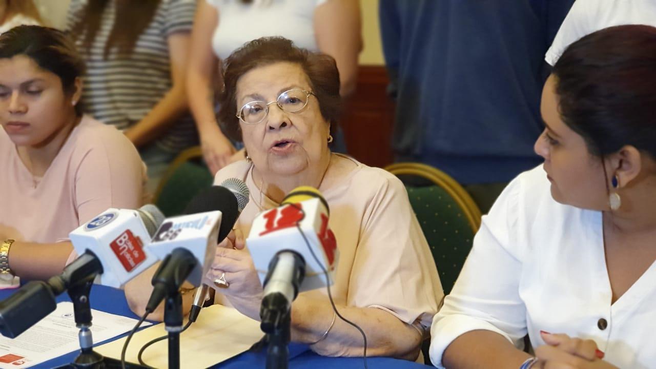 Doctora Vilma Núñez, presidenta del Centro Nicaragüense de Derechos Humanos (Cenidh). Foto: Á. Navarro/Artículo 66
