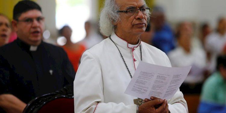 Leopoldo Brenes, en un acto litúrgico en Catedral Metropolitana. Foto/Cortesía: Europa Press
