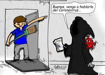 La Caricatura: Visitas de casa en casa