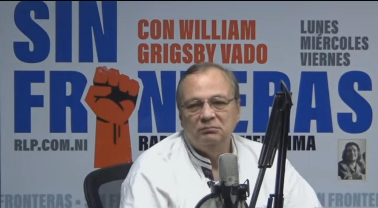 Operador orteguista y director de Radio La Primerísima, William Grisgsby