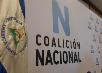 Coalición Nacional Nicaragua. Foto: Tomada de Internet.