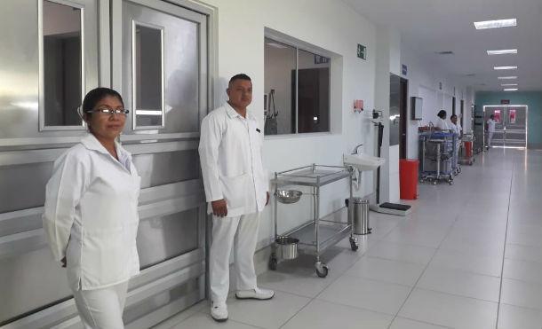 Sala de cuidados intensivos del Hospital Humberto Alvarado, en Masaya. Foto: Cortesía