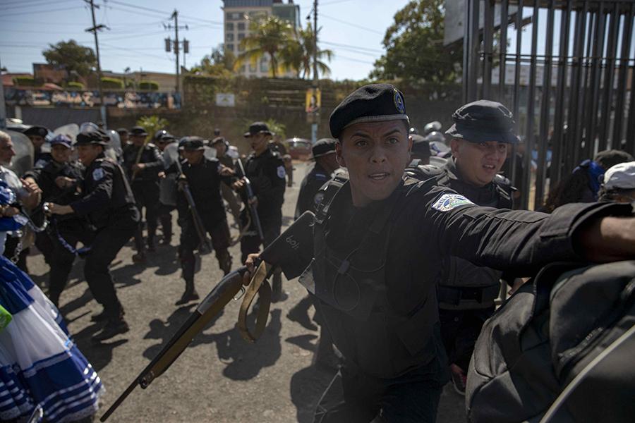 La institución estatal fue sancionada por ser responsable del uso de municiones letales contra manifestantes pacíficos y de participar en escuadrones de la muerte, así como llevar a cabo ejecuciones extrajudiciales, desapariciones y secuestros