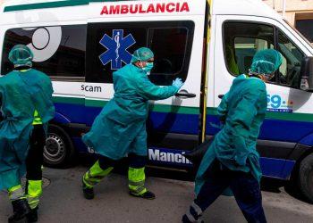 España se acerca a los 25,000 infectados por coronavirus. Foto: Tomada de EFE