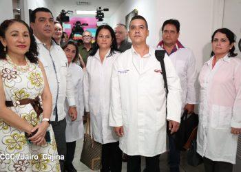 Brigada de médicos cubanos llega a Nicaragua, ante amenaza de coronavirus. Foto: El 19 Digital