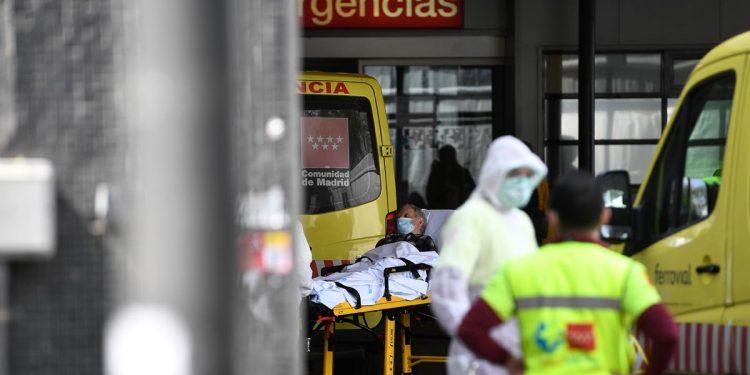 Más de 500 muertos en 24 horas en España por coronavirus. Foto: AFP