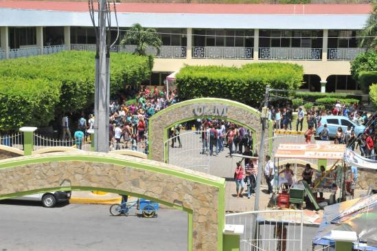 Edificio de la Universidad de Managua (UdeM). Foto: Cortesía