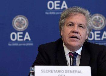 Luis Almagro llama a Nicaragua a la «inmediata liberación de la totalidad de los presos políticos». Foto: Tomada de Internet.