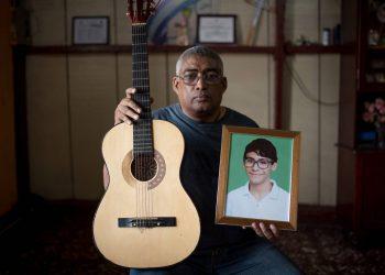 Los sueños truncados de Alvarito Conrado por las balas del régimen. Foto: Cortesía/Carlos Herrera
