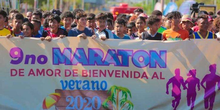 Dictadura de Ortega sigue exponiendo a niños y jóvenes al coronavirus con eventos masivos. Foto: El 19 Digital