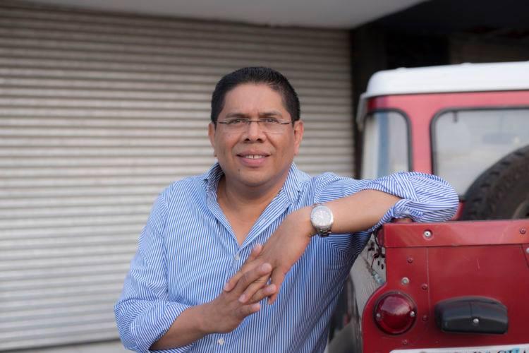 Miguel Mendoaza, cronista deportivo de mucha trayectoria nacional a internacional. Foto: Tomada de su Facebook