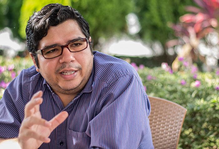 Manuel Díaz, experto en programación web y director de Bacanalnica. Foto: La Prensa.