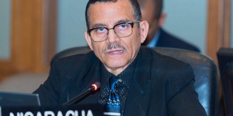Embajador de Nicaragua ante la OEA pide se levanten sanciones aprovechándose del COVID-19. Foto: Cortesía