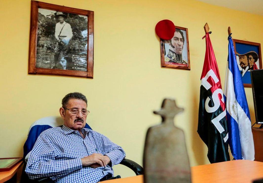 Suárez fue un militante histórico sandinista y jefe de la Comisión de Asuntos Exteriores de la Asamblea Nacional