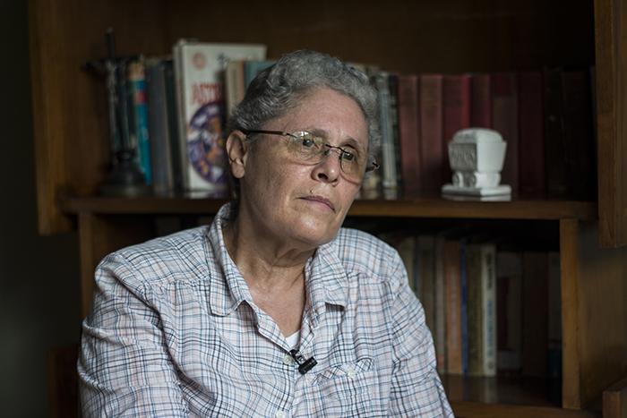 Dora María Téllez, exministra de Salud durante los años 80. Foto: La Prensa.