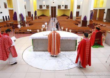 Iglesia católica desaprueba leyes «puntitivas» diseñadas por la dictadura contra la oposición : Foto: Arquidiócesis de Managua