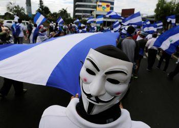 Anonymous anuncia segunda fase de ataques contra el Gobierno de Nicaragua. Foto: Tomada de internet