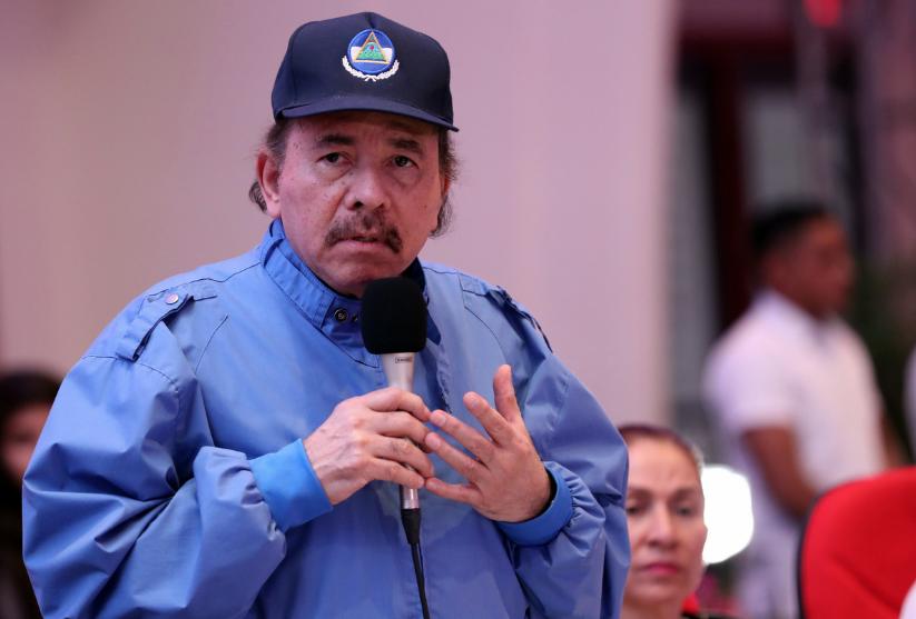 Daniel Ortega, presidenta de Nicaragua. Foto: Cortesía