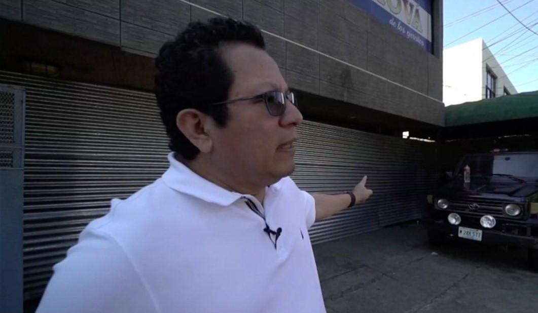 Miguel Mora, director de 100% Noticias, que cumple 16 meses de permanecer confiscado por la dictadura orteguista. Foto: Cortesía