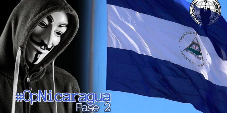 Anonymous anuncia «Fase 2» contra la dictadura de Ortega, con «ataques y filtraciones más grandes»