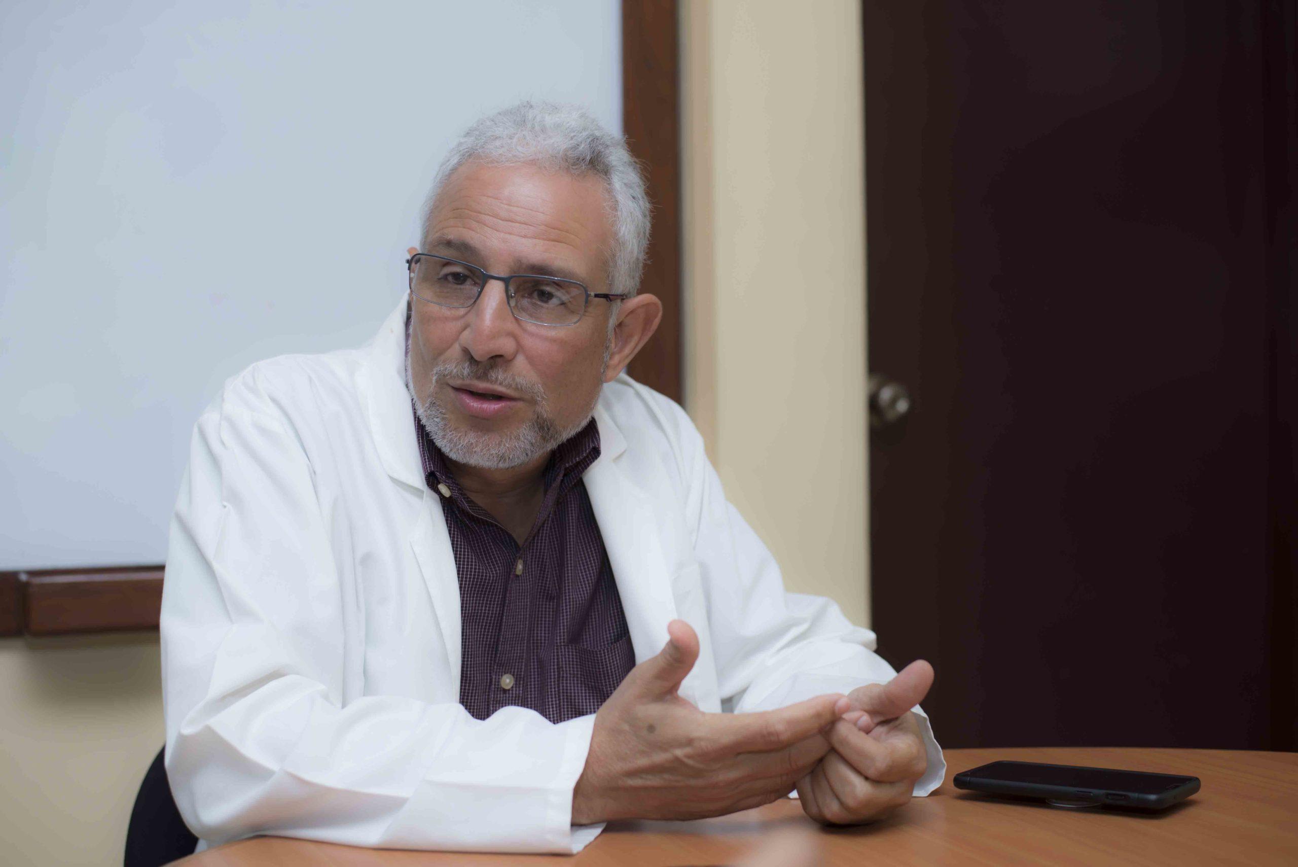Especialista en epidemiología, doctor Leonel Argüello. Foto: La Prensa