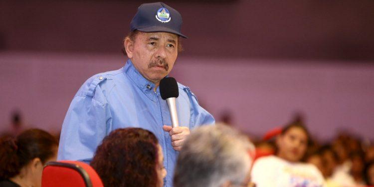 Dictador Daniel Ortega reaparece, tras 34 días de estar oculto. Foto: Cortesía