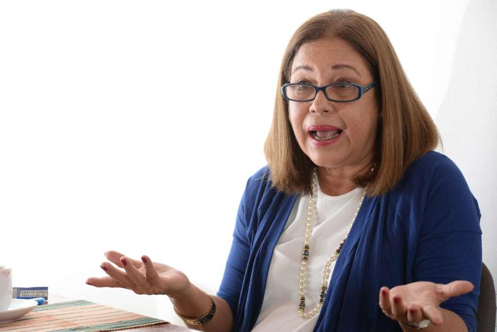 Violeta Granera, del Consejo Político de la Unidad Nacional e integrante de la Coalición Nacional. Foto: La Prensa