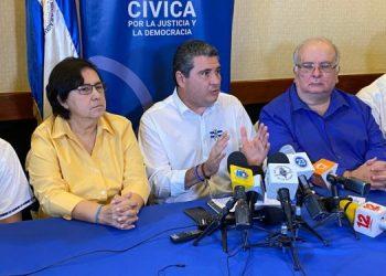 Alianza Cívica se lava las manos y dice que el Movimiento Campesino siempre tuvo «voz y voto». Foto: Cortesía