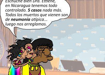 La Caricatura: Nicaragua y los arreglos con la OPS
