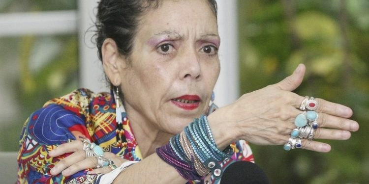 Rosario Murillo arremete contra Félix Maradiaga. Foto: Internet.