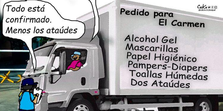 La Caricatura: El pedido para El Carmen