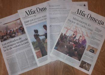 Semanario Alfa y Omega. Fotografía: Israel González Espinoza