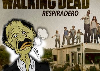 """La Caricatura: Nueva temporada de The Walking Dead """"Respiradero"""""""