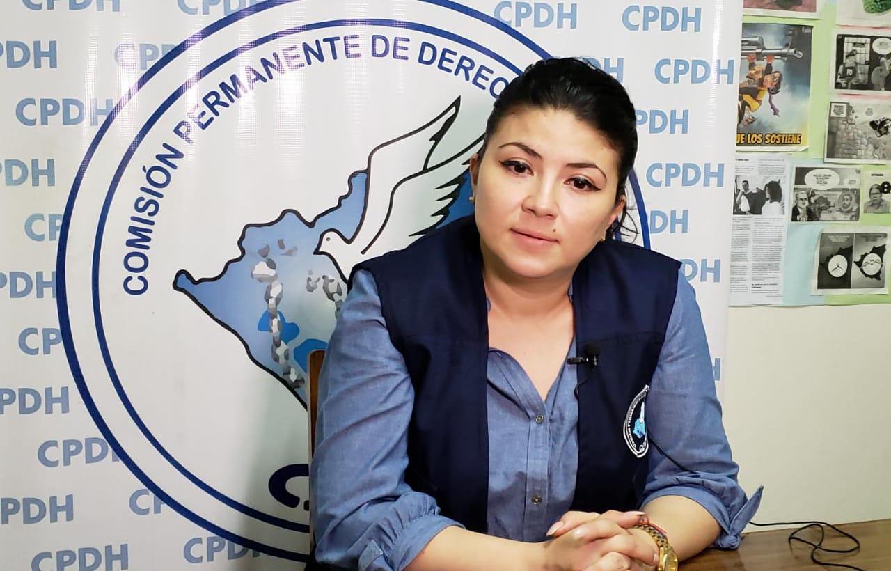 Abogada Maaría Oviedo, miembro de la CPDH. Foto: Artículo66