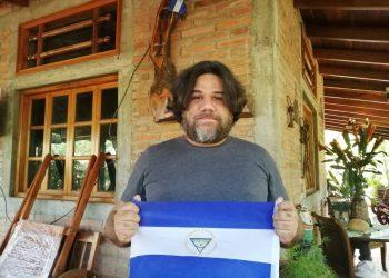 """Mario René Ruiz: """"Debemos seguir adelante, porque toda la población aún está bajo la bota de este tirano"""". Foto: Artículo 66 / Noel Miranda"""
