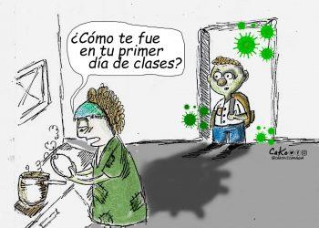La Caricatura: No los mandés a clases