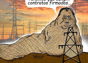 La Caricatura: Cómplices del dictador