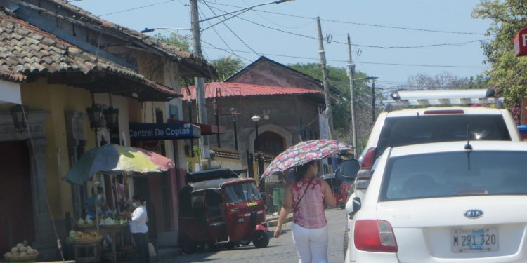 Pobladores de Diriomo incrementan medidas higiénicas tras la muerte de un ciudadano de 58 años . Foto: Noel Pérez/Artículo 66