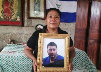 Preso político de Masaya Denis Javier Palacios cumple un año de estar en los calabozos de la dictadura. Foto: Noel Miranda/Artículo 66