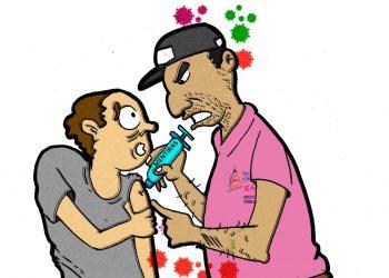 La Caricatura: La vacuna
