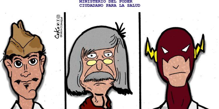La Caricatura: Los que leen los comunicados del MENSA