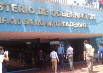 Ministerio de Gobernación se niega a entregar carta de cumplimiento a organizaciones de la sociedad civil. Foto: Cortesía