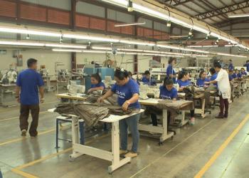 Empresas de zonas francas mandan de vacaciones a 62 mil trabajadores. Foto: Vos TV
