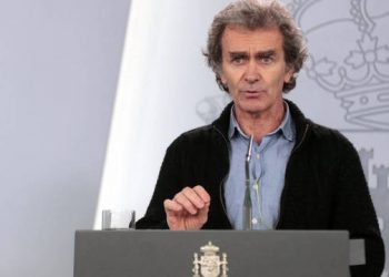 Fernando Simón, director del Centro de Coordinación de Alertas y Emergencias Sanitarias de España