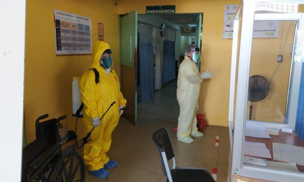 Personal médico del hospital Monte España en Nicaragua. Foto: La Prensa / Cortesía