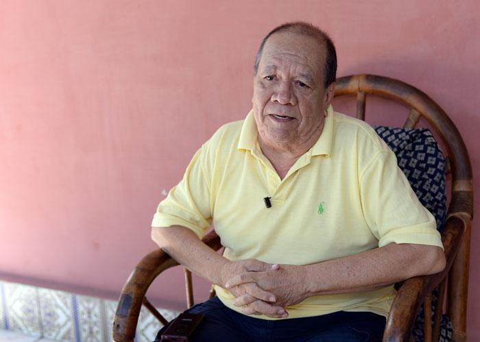 Experto en temas de defensa y seguridad, Roberto Cajina. Foto: La Prensa