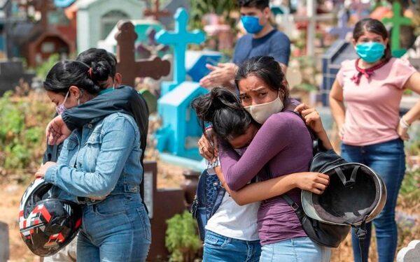 Manejo del COVID-19 por la dictadura de Ortega tiene «trazos criminales».Foto: AFP
